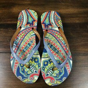 Vera Bradley Flip Flops Sandals